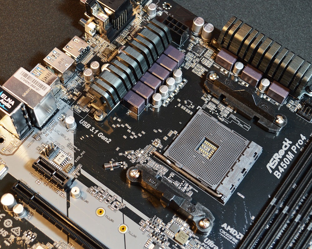 ASRock B450M Pro4 Motherboard Review